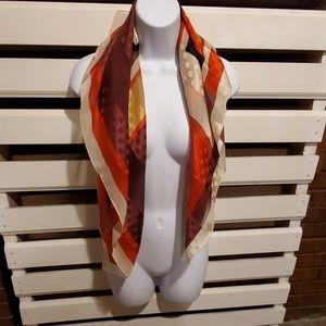 NWT 100% silk scarf..                #262